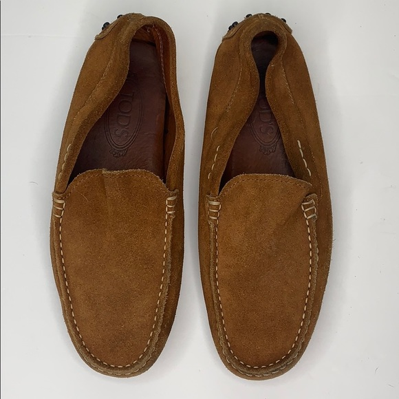 Tod's Shoes - Tod's suede loafers